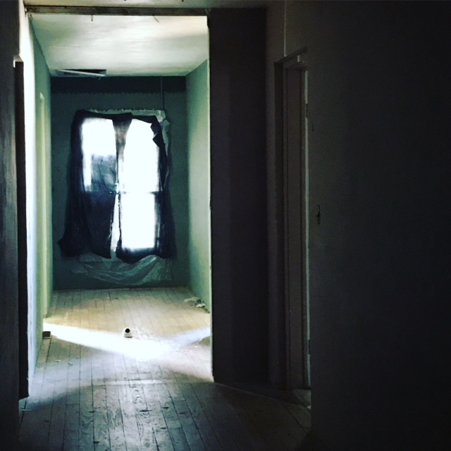 Inside the Old Park Haunted, a haunted hotel in West Texas (photo by Tui Snider)