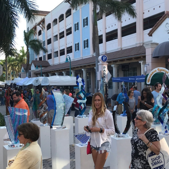 18th Annual Downtown Delray Beach Thanksgiving Weekend Art Festival in Florida (photo by Tui Snider)