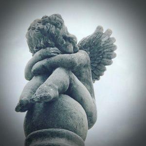 (c) Tui Snider - sweet little cherub from the Victorian Era