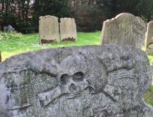 (c) Tui Snider - skull and crossbones were once quite common on headstones