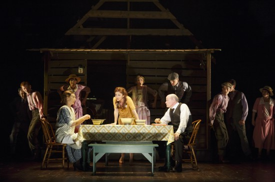 "Cast of ""Bright Star"" (c) Joan Marcus"