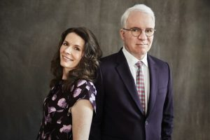 Edie Brickell and Steve Martin (c) Joan Marcus