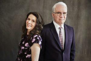 Edie Brickell and Steve Martin (c) Joan Marcus