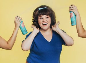 Michelle Dowdy as Tracy Turnblad in Hairspray - photo (c) Paxton Maroney