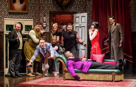 The Play Goes Wrong National Tour photo by Jeremy Daniel