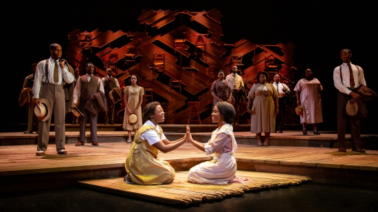 (Company of the National Tour, THE COLOR PURPLE © JEREMY DANIEL)