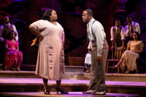 (Chédra Arielle, Brandon A. Wright, THE COLOR PURPLE © JEREMY DANIEL)