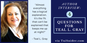 Teal L Gray, author