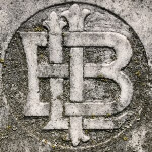 Bartenders International League of America emblem in Oakwood Cemetery. photo (c) Tui Snider