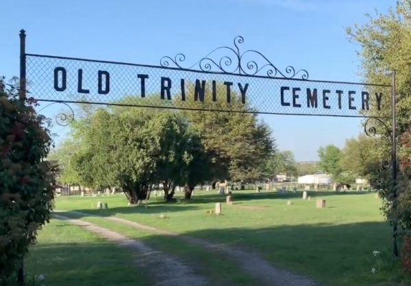 Trinity Cemetery gates. photo (c) Tui Snider